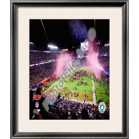 Sun Life Stadium Super Bowl XLIV Framed Photographic Print Wall Art  - - Sun Life Stadium Halloween