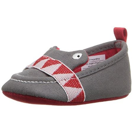 Rosie Pope Kids Footwear I See You Infant Boys Embroidered Crib Shoes