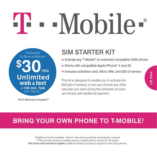 T-Mobile Micro SIM Activation Kit
