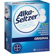 Alka-Seltzer Original Antacid & Pain Relief, 36 ct