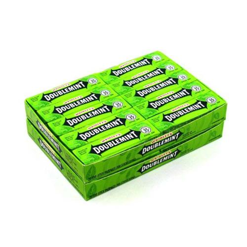 Wrigley's Doublemint Gum 40 pack (5 ct per pack) (Pack of 3)