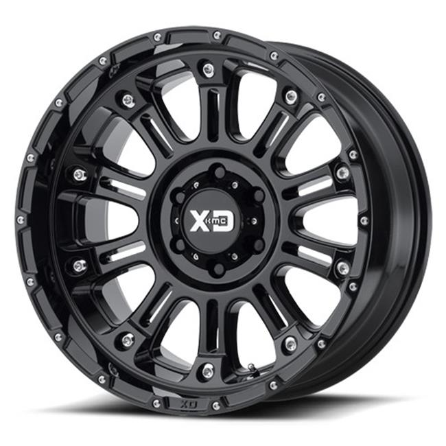 Wheel Pros A78-8297906831 17 x 9 in. & 6 x 139.7 mm Gloss...