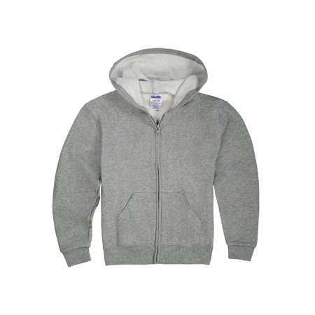 - Mid-Weight Fleece Full-Zip Hooded Sweatshirt (Little Boys & Big Boys)