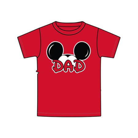 Disney Plus Size Mickey Ears Dad Family 3XL Tee