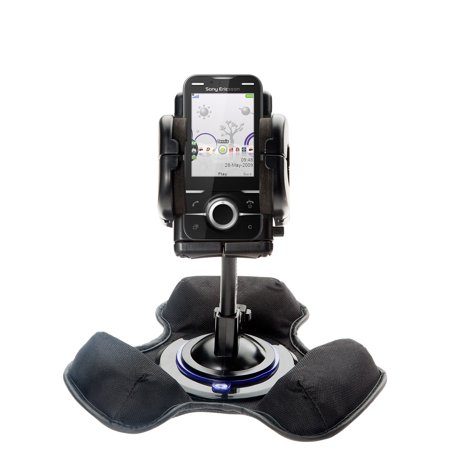 Car   Truck Vehicle Holder Mounting System For Sony Ericsson Yari A Includes Unique Flexible Windshield Suction And Universal Dashboard Mount Options