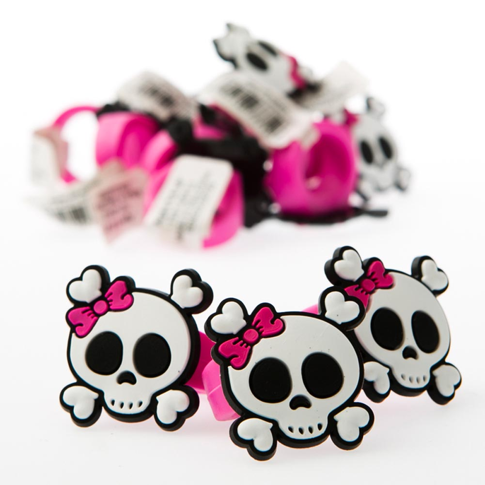 Pink Pirate Rubber Rings