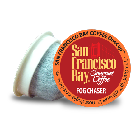 San Francisco Bay OneCup Coffee Pods, Fog Chaser, 80 Count