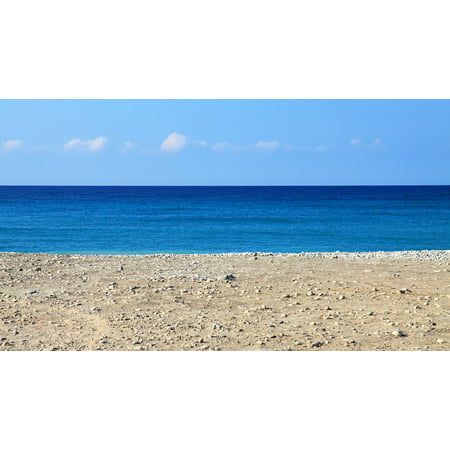 Canvas Print Ocean Beach Nature Sea Landscape Sky Holiday Hot Stretched Canvas 10 x 14