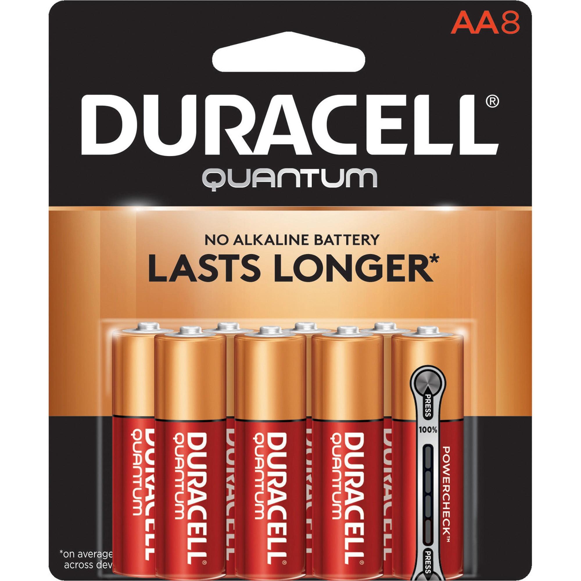 Duracell Quantum Alkaline AA Batteries, 8 Count