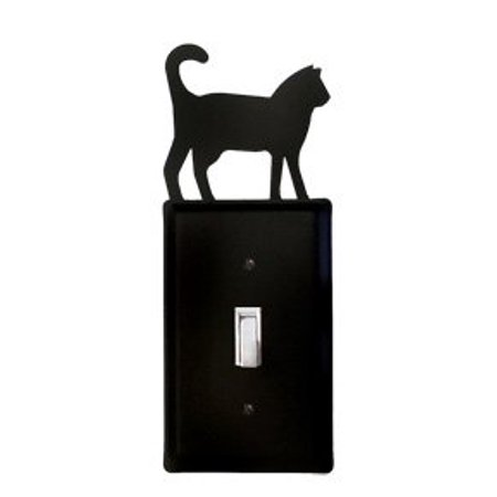 Village Wrought Iron ES-6 Cat Switch Cover
