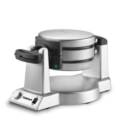 Cuisinart Double Belgian Waffle Maker Round, Stainless Steel |