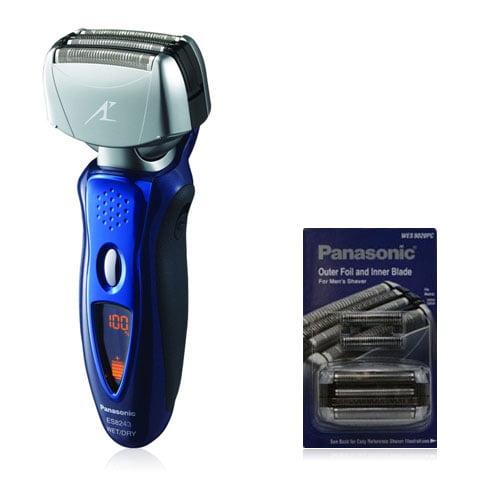 Panasonic ES8243A Mens Arc IV Wet / Dry Shaver With Blade & Foil Combo