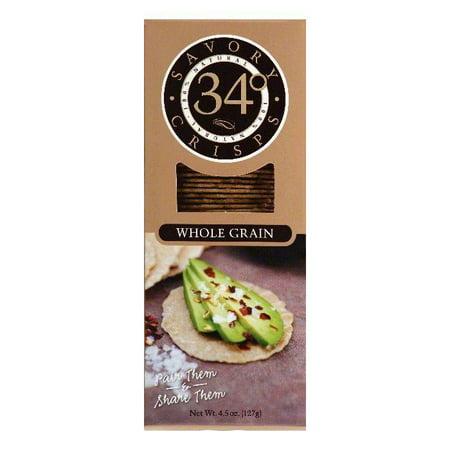 34 Degrees Whole Grain Savory Crisps, 4.5 OZ (Pack of - Halloween Savory Snacks