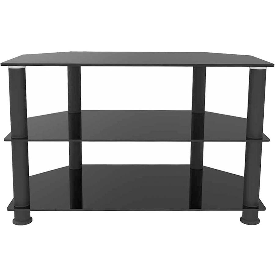 "Ematic Metal and Glass TV Stand for TVs up to 66 lbs and 42"", ETVS660"