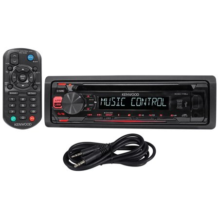 Kenwood kdc 115u in dash car cd player receiver stereo mp3usbaux kenwood kdc 115u in dash car cd player receiver stereo mp3usb publicscrutiny Images