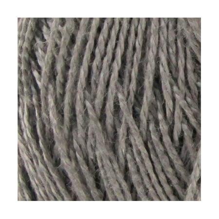 Lace Weight Tencel Yarn - Delightfully Fine - 60% Bamboo 40% Tencel Yarn - 4 Skeins - Col 10 Ash ()