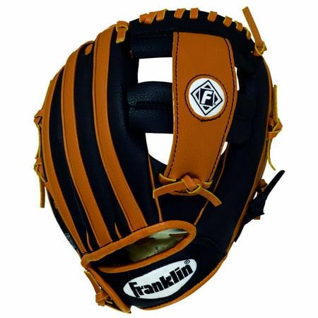 Black & Tan Baseball Glove - Kids Sports by Franklin (4809TB)
