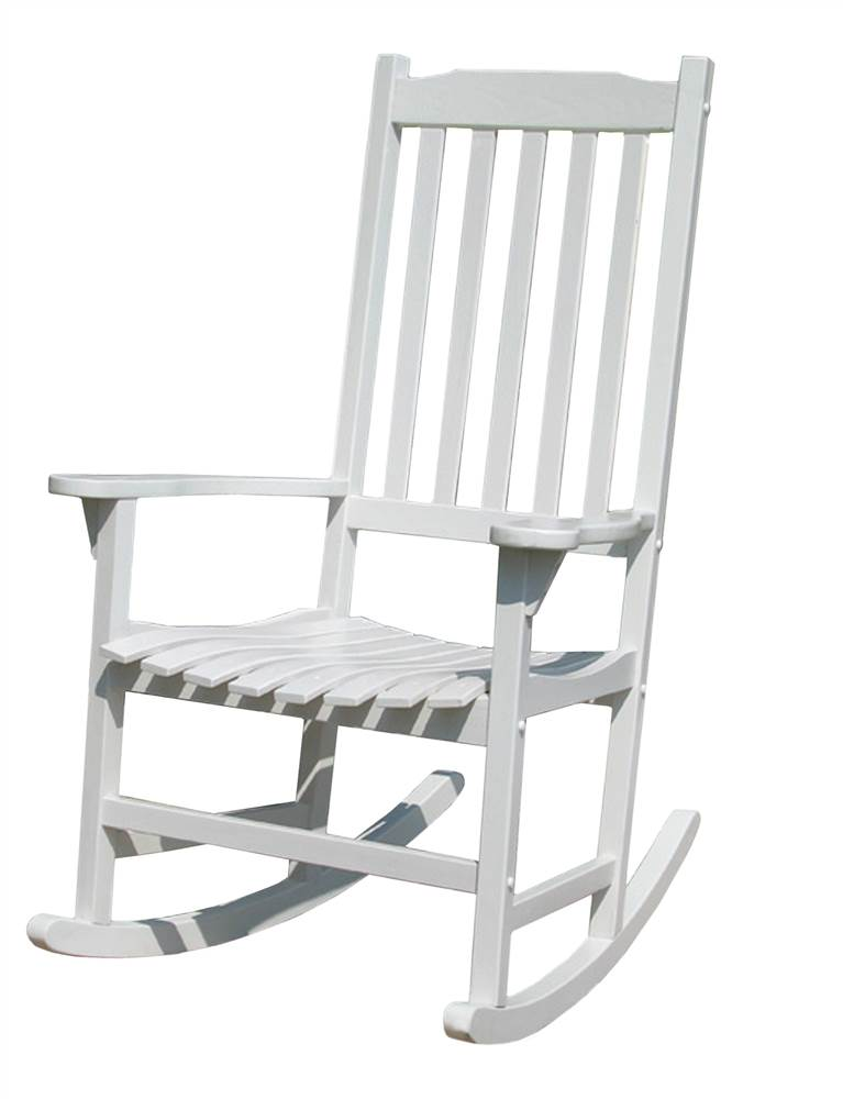 white traditional rocking chair walmart com