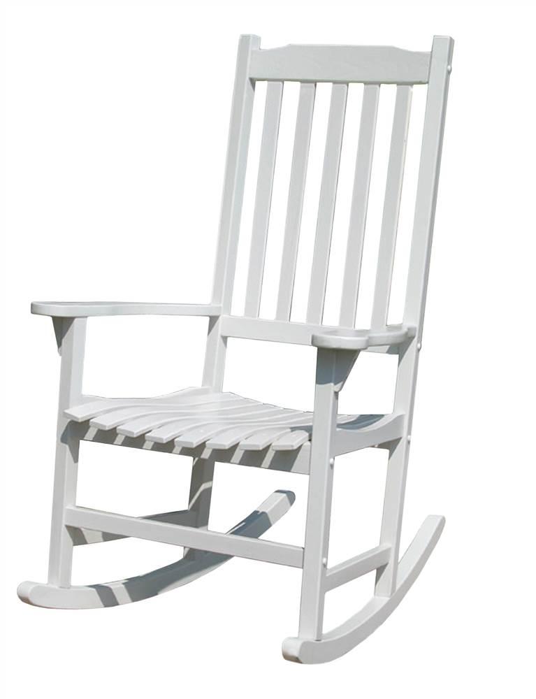 White Traditional Rocking Chair - Walmart.com