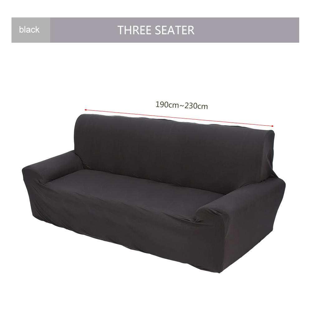 Yosoo 1 3 Seater Stretch Loveseat Sofa Couch Protect Cover Slipcover Washable Elastic