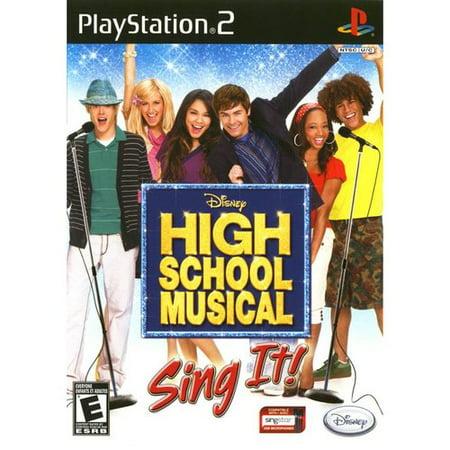 High School Musical: Sing It! Bundle w/ Microphone (PS2)