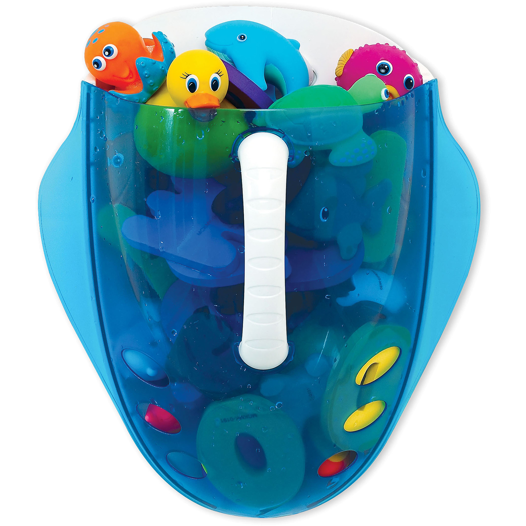 Munchkin Scoop Drain and Store Bath Toy Organizer - Walmart.com
