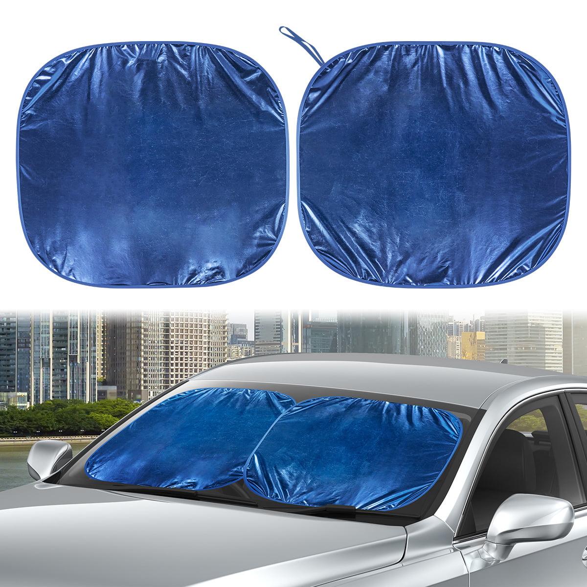 "x 28/"" Car Front Window Sunshade 2pk 24.8/"" Details about  /CARTMAN Windshield Sun Shade 49.6/"""