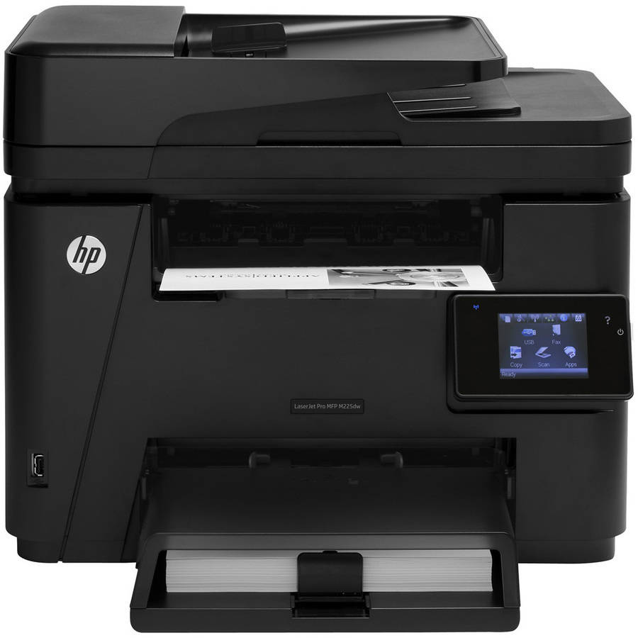 Refurbished HP LaserJet Pro Multi-Function M225dw Printer/Copier/Scanner/Fax Machine