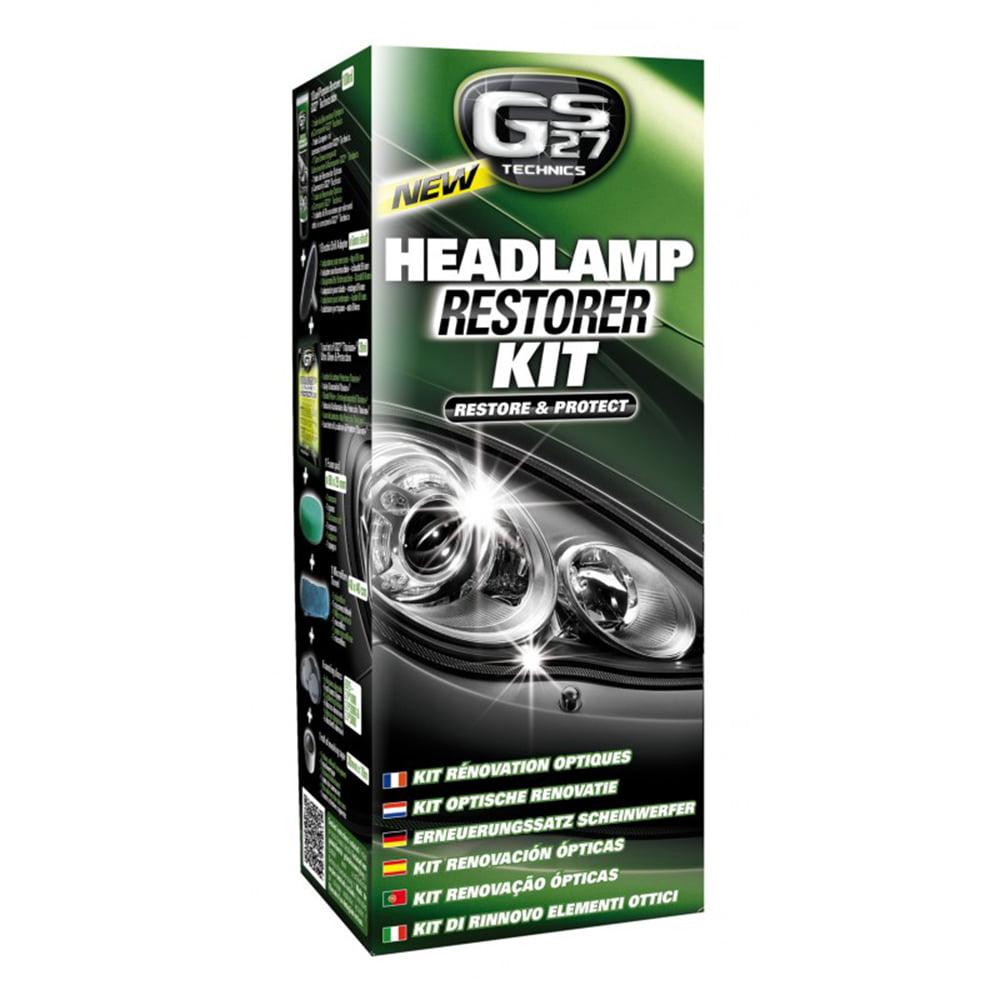 Gs27 Vehicle Headlamps Restoration Kit Car Headlamp Lens Clarity
