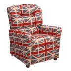 Flash Furniture Kids Vinyl Recliner With Cupholder And