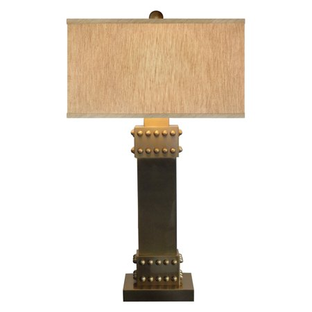 Catalina Lighting 19079-001 3-Way Rotary Table Lamp