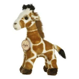 Giraffe 9 in. Miyoni  - Jungle & Safari Stuffed Animal by Aurora Plush (10822)