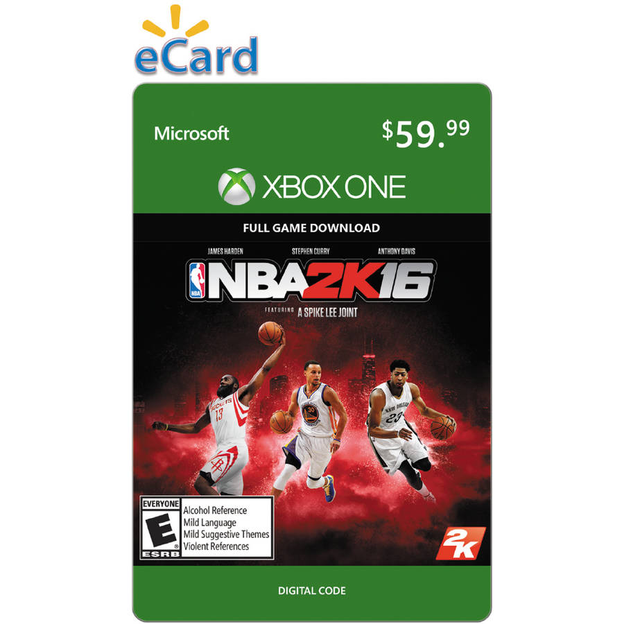 NBA 2K16 (Xbox One) (Email Delivery)