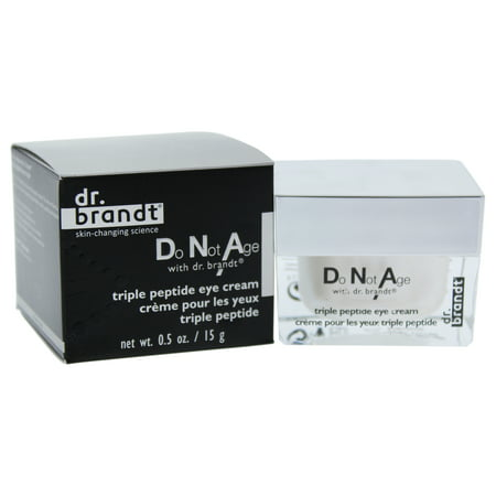 Do Not Age with Dr. Brandt Triple Peptide Eye Cream by Dr. Brandt for Unisex - 0.5 oz Eye