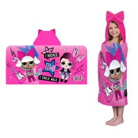 L.O.L. Surprise! Kids Hooded Bath Towel, My Debut, 1 Each