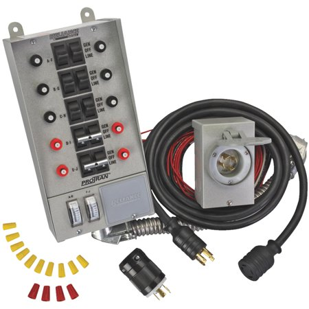 10 Circuit Generator Transfer Switch