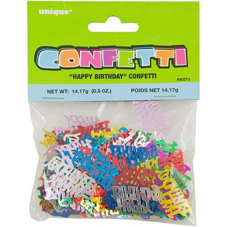 Happy Birthday Confetti - Happy Birthday Confetti