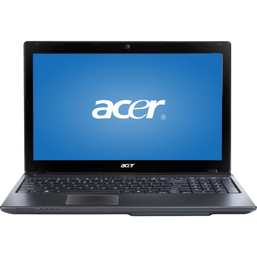 """Acer Gray 15.6"""" Aspire AS5560-4334G50Mnkk Laptop PC with AMD A4-330M Processor and Windows 7 Home Premium with Windows 8 Pro Upgrade Option"""