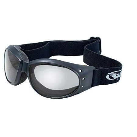Global Vision Eyewear Eliminator Goggles with Micro-Fiber Pouch, Clear Mirror