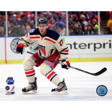 hot sale online a246d e619b Ryan McDonagh 2012 NHL Winter Classic Action Photo Print