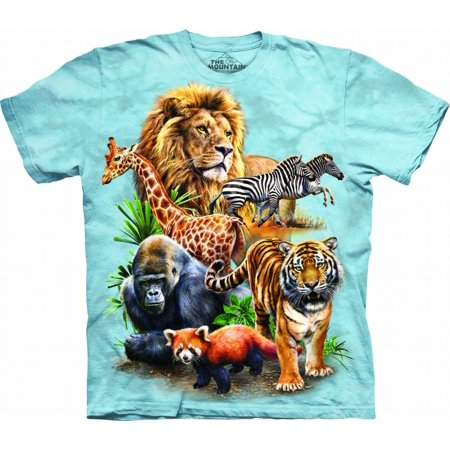 The Mountain Zoo Collage - Ch Big Boys T-Shirt Tee ()
