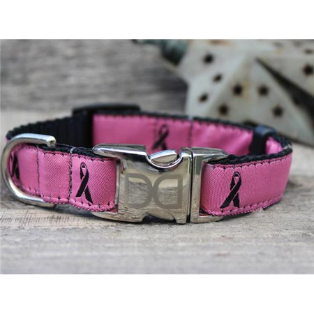 Diva Dog Boutique - Breast Cancer Awareness Pink Dog Collar XS/S