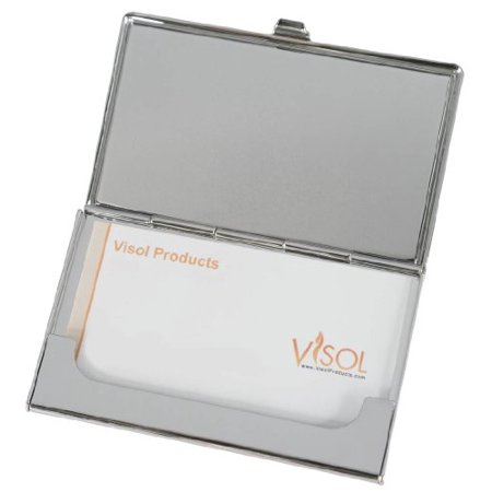 Visol products dragonfly crystals and lacquer womens for Womens business card case