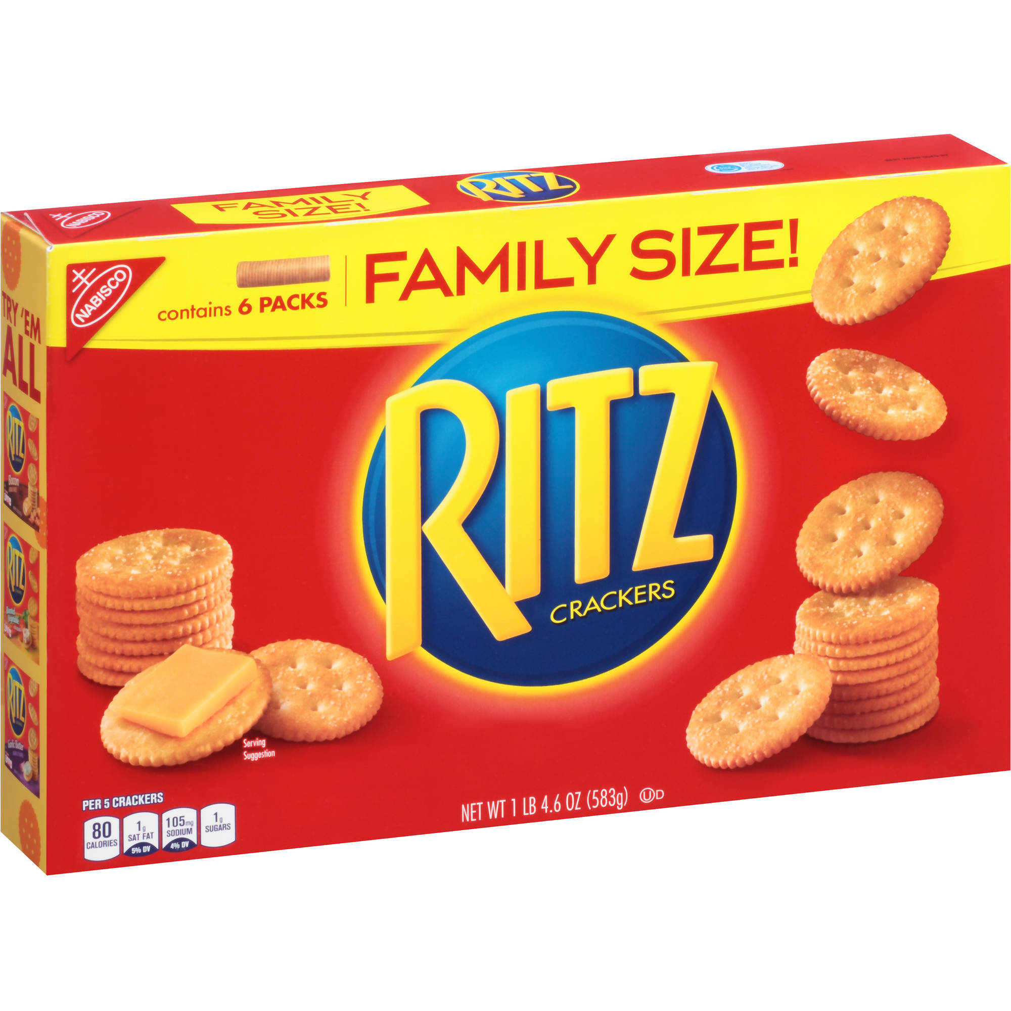 Nabisco Ritz Crackers, 20.6 oz