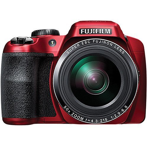 FujiFilm FinePix S9900W Digital Camera with 3.0-Inch LCD (Red) (International Model) No Warranty by Fujifilm