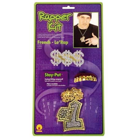 Rapper Accessory Kit - Rapper Costume Accessories