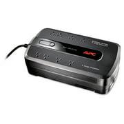 APC UPS Battery Backup System BE650G1 Back-UPS ES 650, 8 Outlets, 650VA, 365 J