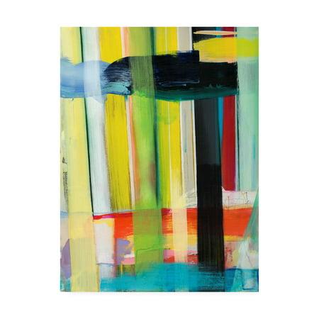 Trademark Fine Art 'Intersecting Colors I' Canvas Art by Jodi Fuchs