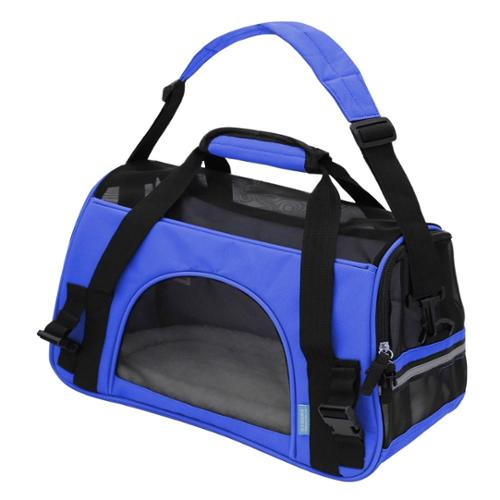 Oxgord Soft-Sided Cat/ Dog Comfort Travel Pet Carrier Bag (Small) Royal Blue