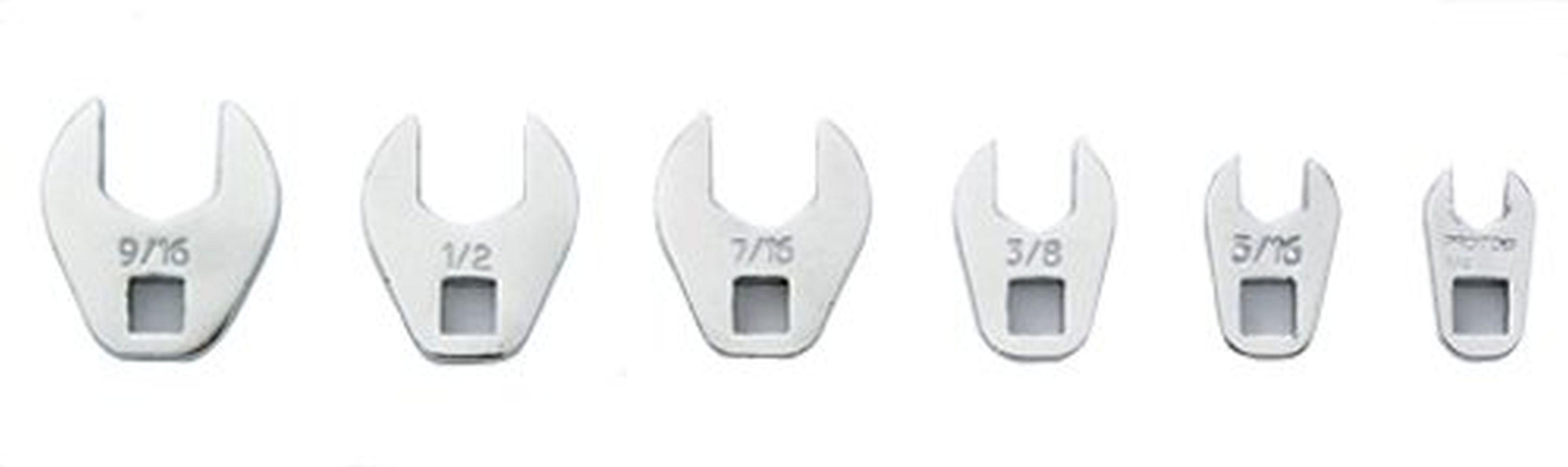 """PROTO Steel Crowfoot Socket Wrench,1//4/"""" Drive Size J4710CF"""